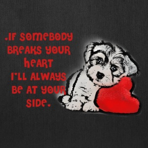My doggy valentine - Tote Bag