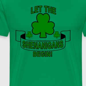 let_the_shenanigans_begin - Men's Premium T-Shirt