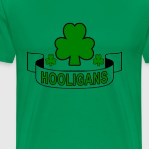 st_patricks_day_hooligans - Men's Premium T-Shirt