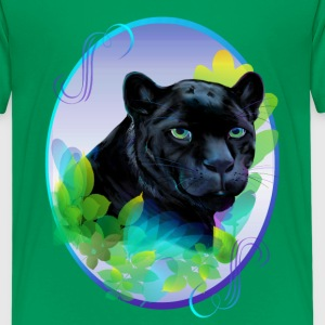 BLACK PANTHER and BLENDING JUNGLE - Kids' Premium T-Shirt