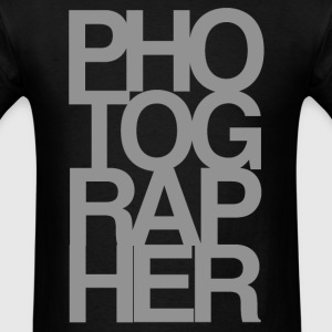 'PHOTOGRAPHER' T-Shirt - Men's T-Shirt