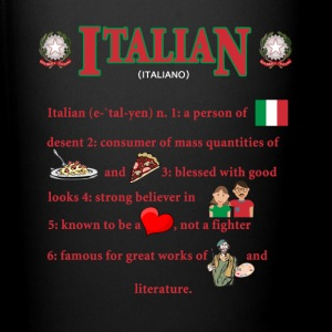 Italians descent Italian Heritage T-shirt Mugs & Drinkware - Full Color Mug