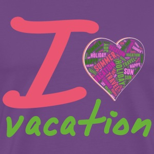 Love vacation T-Shirts - Men's Premium T-Shirt