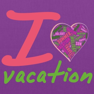 Love vacation Bags & backpacks - Tote Bag