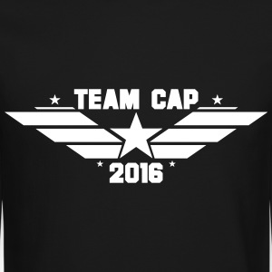 TEAM CAP Long Sleeve Shirts - Crewneck Sweatshirt