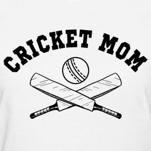 Cricket Mom Women's T-Shirts - Women's T-Shirt