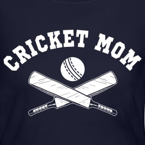 Cricket Mom Long Sleeve Shirts - Women's Long Sleeve Jersey T-Shirt