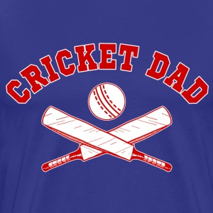 Cricket Dad T-Shirts - Men's Premium T-Shirt