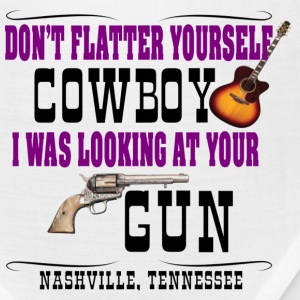Nashville Looking at Your Gun Bandana - Bandana