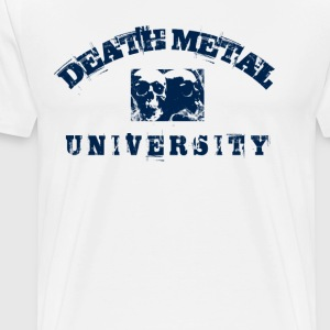 BLACK METAL UNIVERSITY - BLUE - Men's Premium T-Shirt