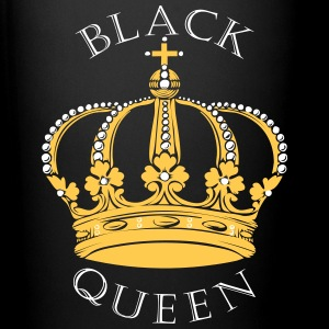 Black Queen Crown Mugs & Drinkware - Full Color Mug