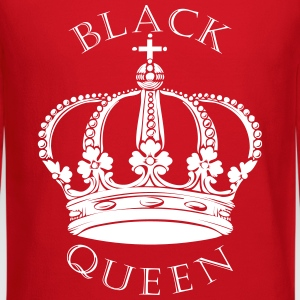 Black Queen Crown Long Sleeve Shirts - Crewneck Sweatshirt