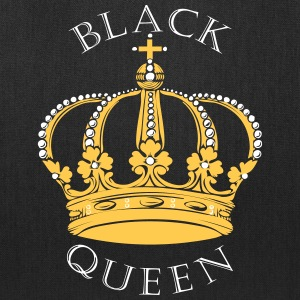 Black Queen Crown Bags & backpacks - Tote Bag