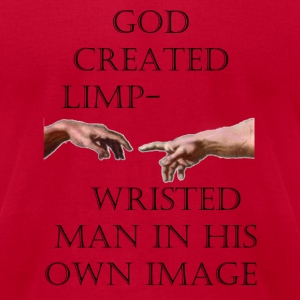 0006 - Limp Wrist - Men's T-Shirt by American Apparel