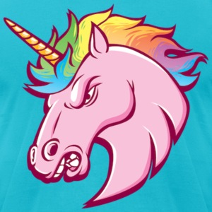Unicorn T-Shirt - Men's T-Shirt by American Apparel