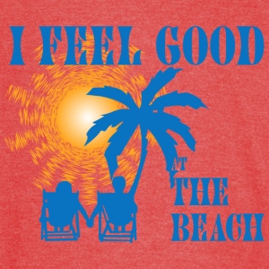 Feel good at the beach T-Shirts - Vintage Sport T-Shirt