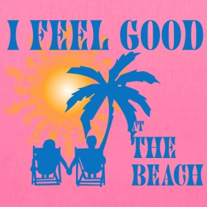 Feel good at the beach Bags & backpacks - Tote Bag