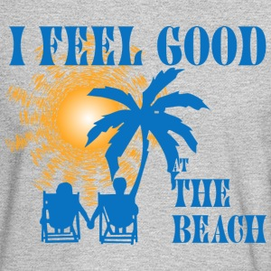 Feel good at the beach Long Sleeve Shirts - Men's Long Sleeve T-Shirt