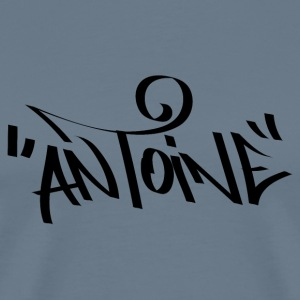 Antoine Graffiti Names - Men's Premium T-Shirt