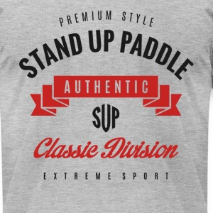 Stand Up Paddle T-shirt T-Shirts - Men's T-Shirt by American Apparel