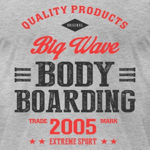 Bodyboarding Extreme Sport T-shirt T-Shirts - Men's T-Shirt by American Apparel