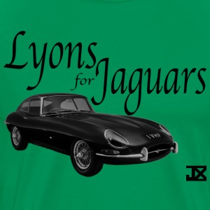 Lyons for Jaguars GREEN - Men's Premium T-Shirt