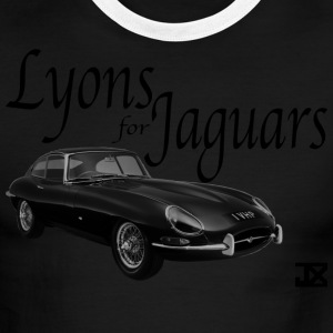 Lyons for Jaguar GREEN Ringer - Men's Ringer T-Shirt
