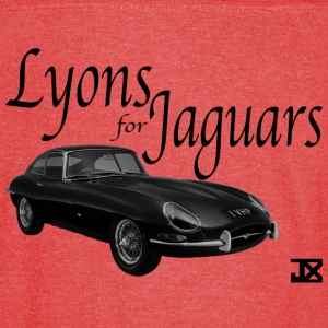 Lyons for Jaguar RED Sport T - Vintage Sport T-Shirt
