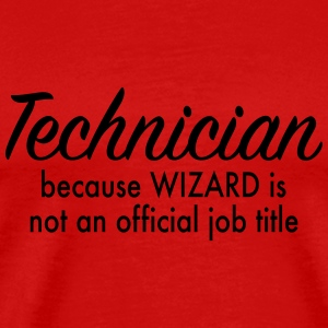 technician T-Shirts - Men's Premium T-Shirt