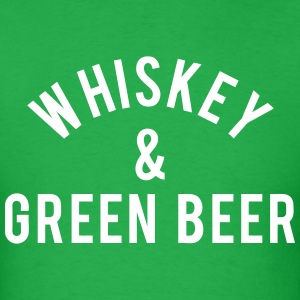 Whiskey & Green Beer T-Shirts - Men's T-Shirt