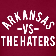 Arkansas vs. The Haters T-Shirts