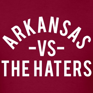 Arkansas vs. The Haters T-Shirts - Men's T-Shirt
