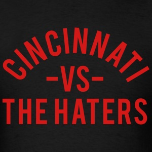 Cincinnati vs. The Haters T-Shirts - Men's T-Shirt