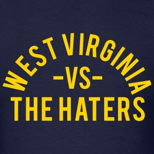West Virginia vs. The Haters T-Shirts - Men's T-Shirt