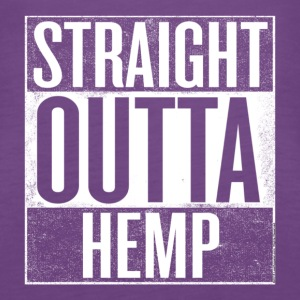 Straight Outta Hemp - Women's Premium Tank Top