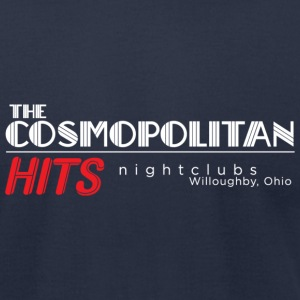 Cosmo / Hits Logo T-Shirts - Men's T-Shirt by American Apparel