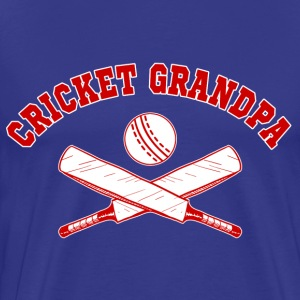 Cricket Grandpa T-Shirts - Men's Premium T-Shirt