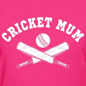 Cricket Mum Women's T-Shirts - Women's T-Shirt