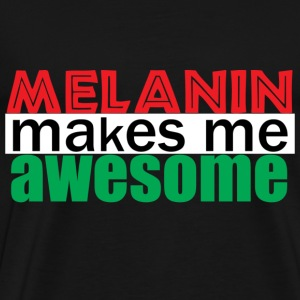 Melanin Awesome - Men's Premium T-Shirt