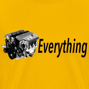LS Everything YELLOW T-shirt - Men's Premium T-Shirt