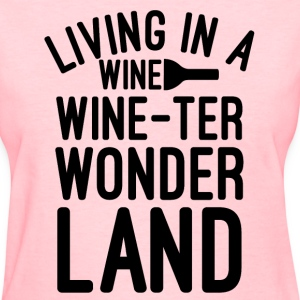 Living in the wonder land - Women's T-Shirt