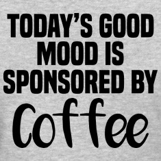 Good mood by coffee