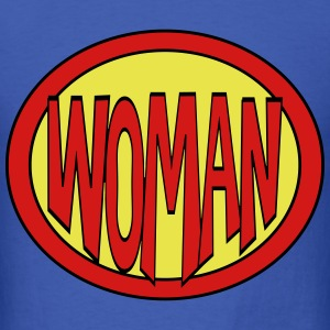 Super, Hero, Heroine, Super Woman T-Shirts - Men's T-Shirt