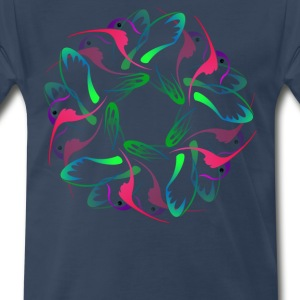 HUMMING BIRDS 2 - Men's Premium T-Shirt
