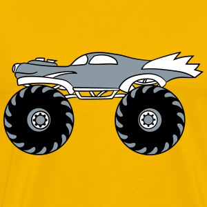 small cool monster truck turbo T-Shirts - Men's Premium T-Shirt