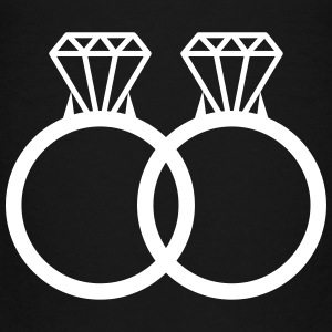 rings wedding marriage diamonds couple love Baby & Toddler Shirts - Toddler Premium T-Shirt