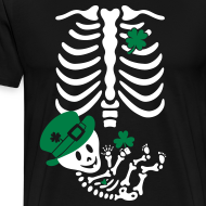 Design ~ St. Patrick's Skelly Baby / non maternity