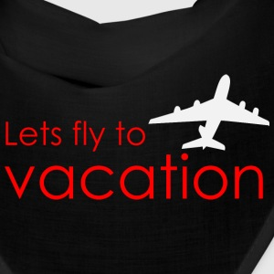 Lets fly to vacation Caps - Bandana