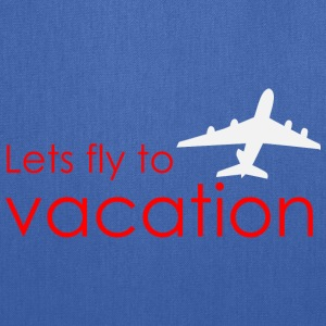 Lets fly to vacation Bags & backpacks - Tote Bag