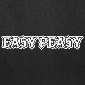 easy peasy saying Bags & backpacks - Tote Bag